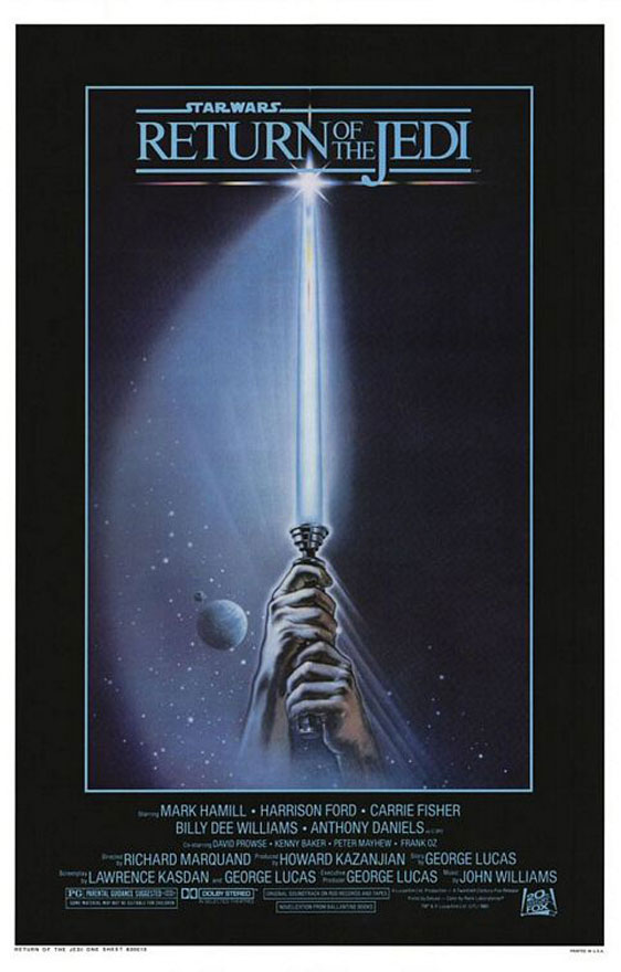 Star Wars: Episode VI - Return of the Jedi Poster #1