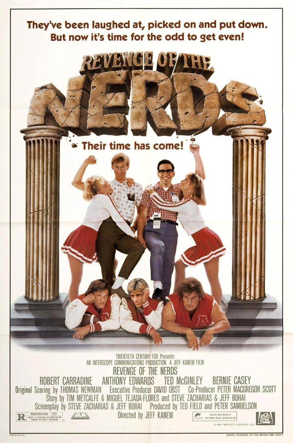 Revenge of the Nerds Poster #1