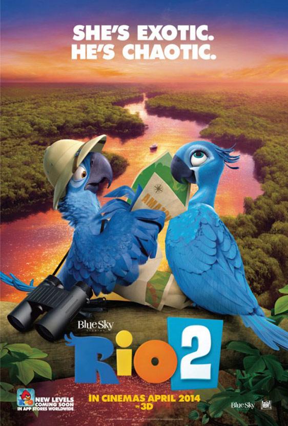 Rio 2 Poster #3