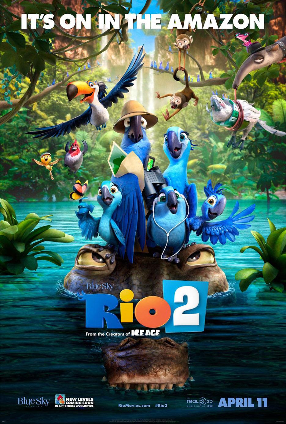 Rio 2 Poster #6