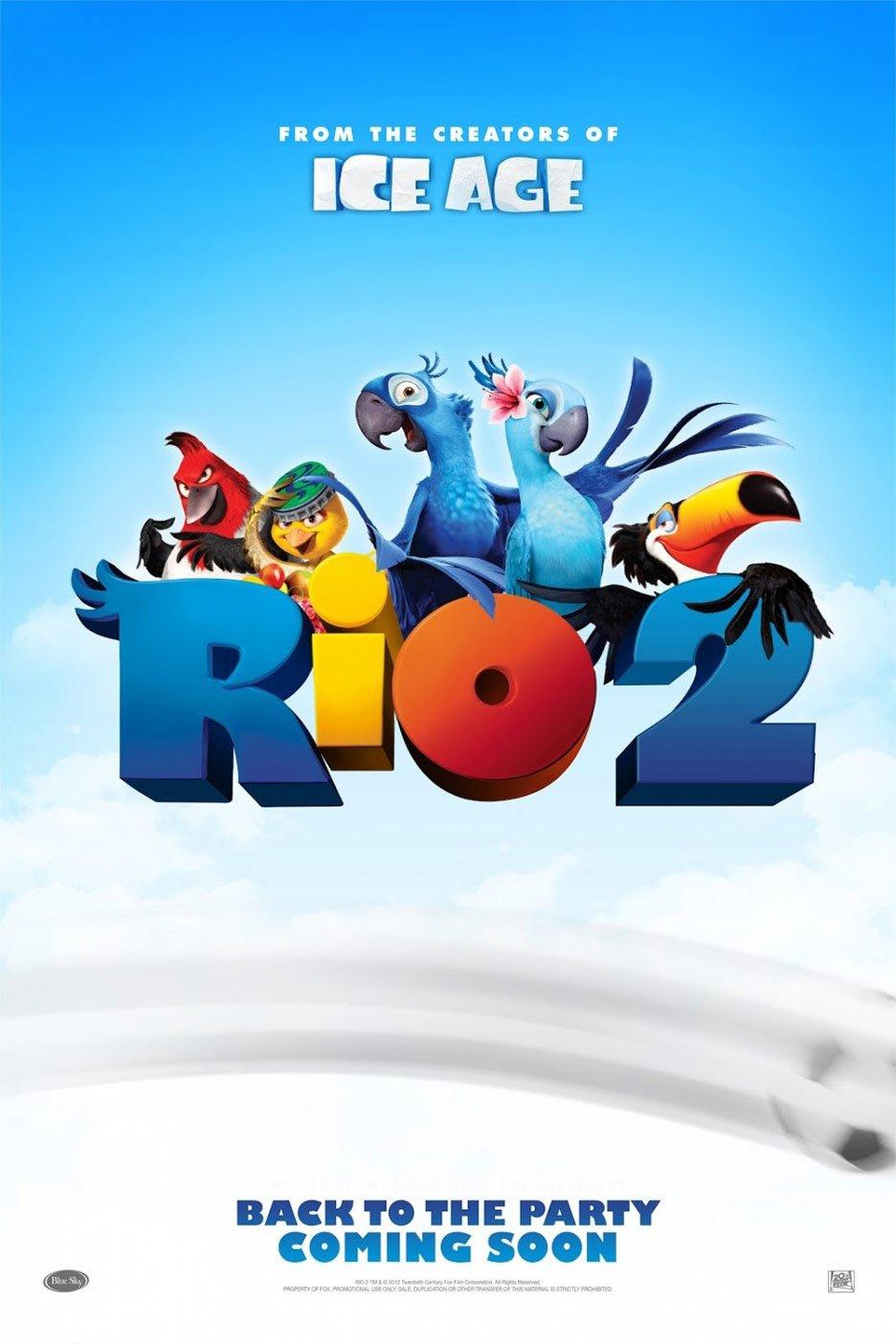 Rio 2 Poster #1