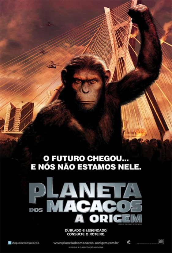 Rise of the Planet of the Apes Poster #10
