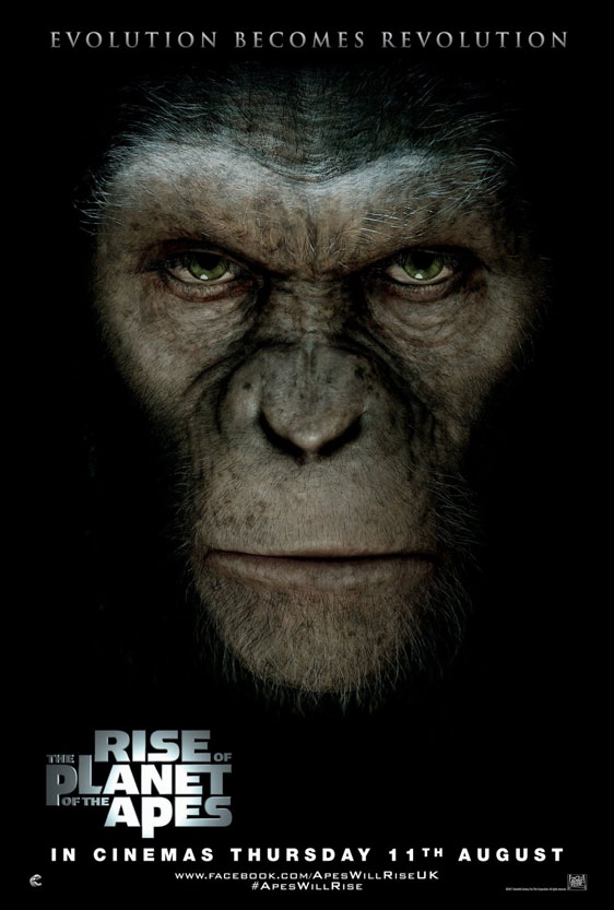 Rise of the Planet of the Apes Poster #3