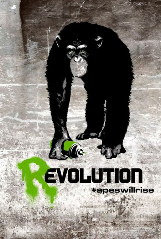 Rise of the Planet of the Apes Poster #7