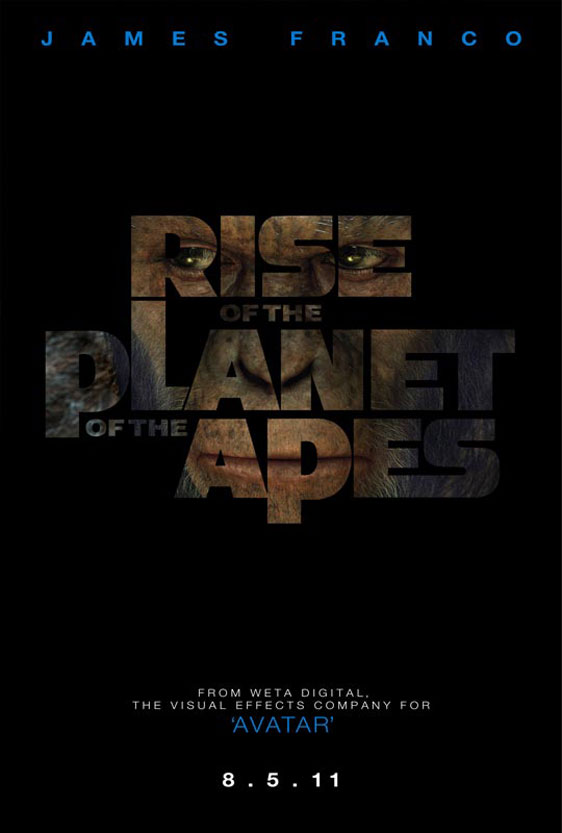 Rise of the Planet of the Apes Poster #1