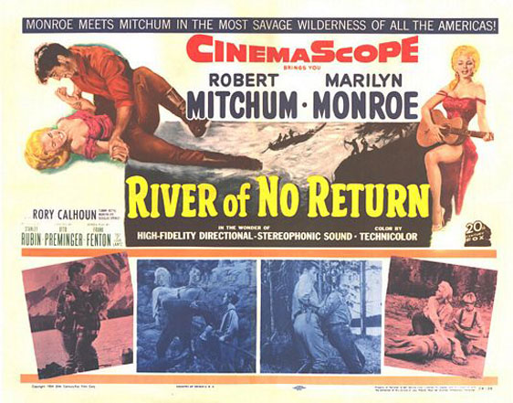 River of No Return Poster #2