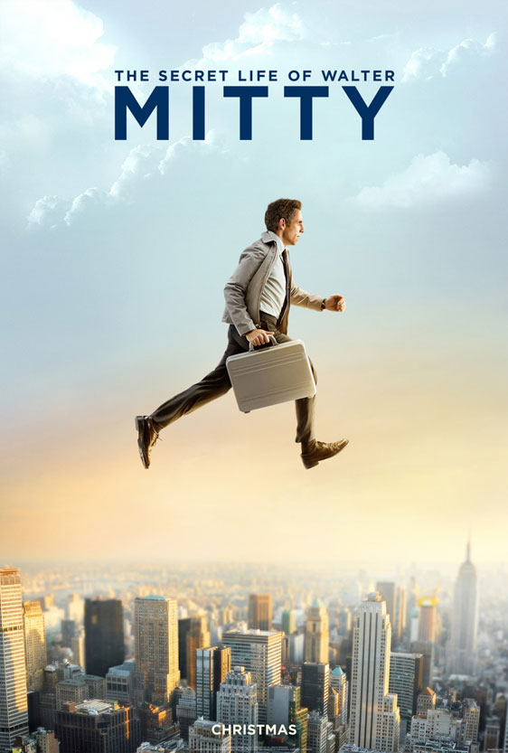 The Secret Life of Walter Mitty Poster #2