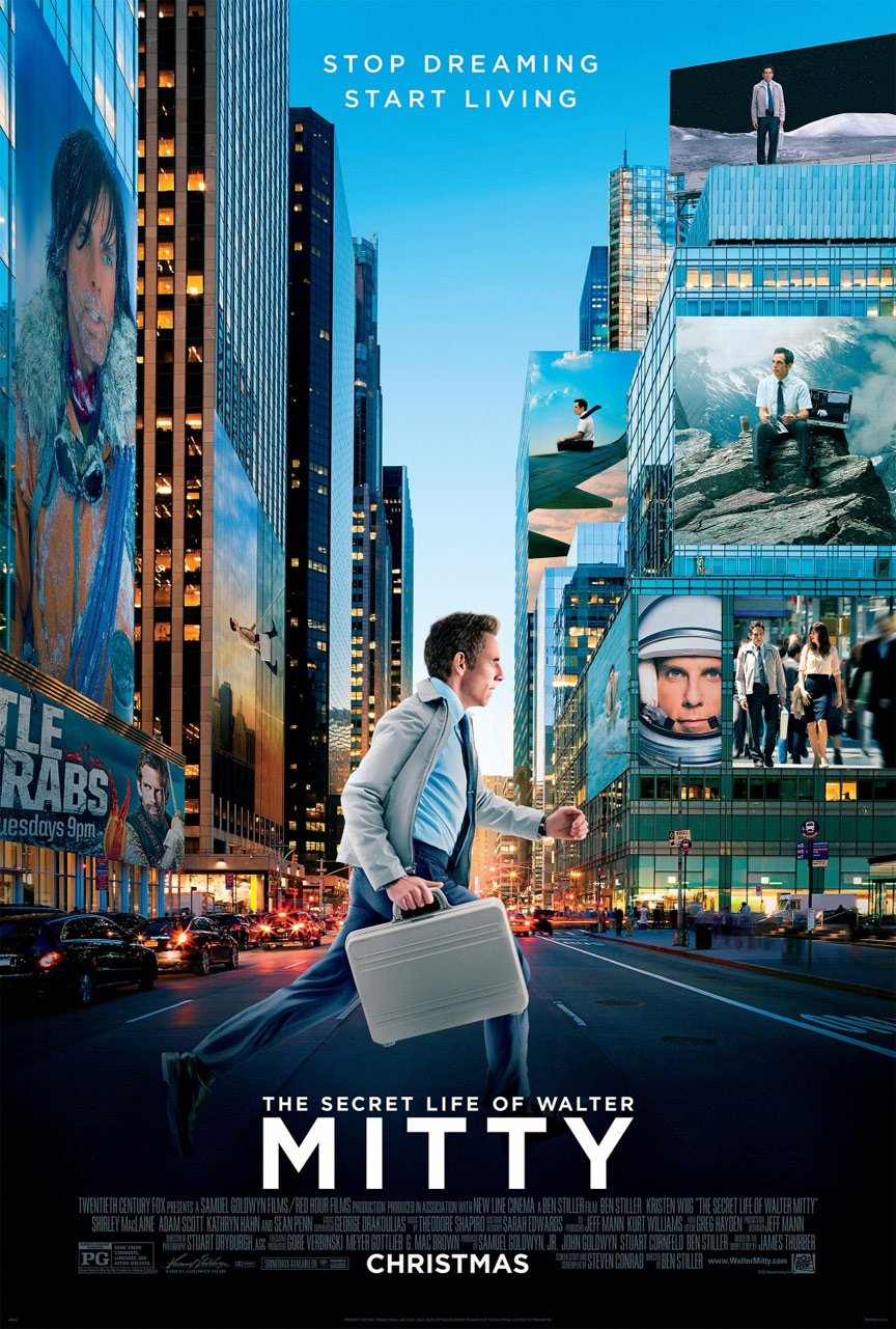 The Secret Life of Walter Mitty Poster #9