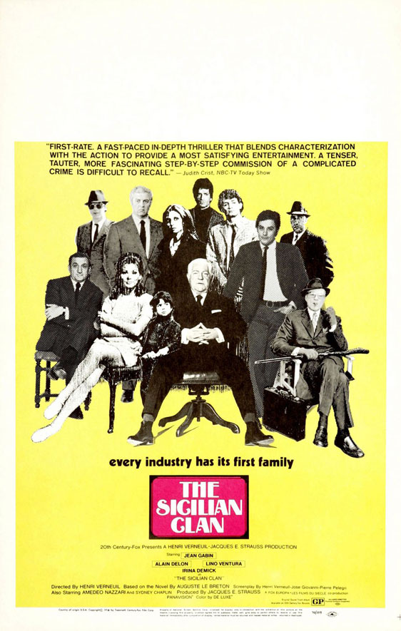 The Sicilian Clan Poster #2