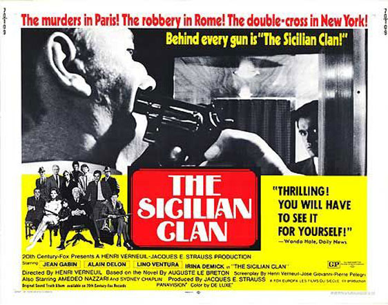 The Sicilian Clan Poster #1