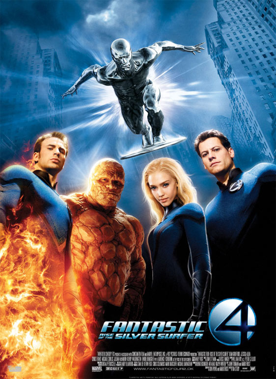 Fantastic Four: Rise of the Silver Surfer Poster #2