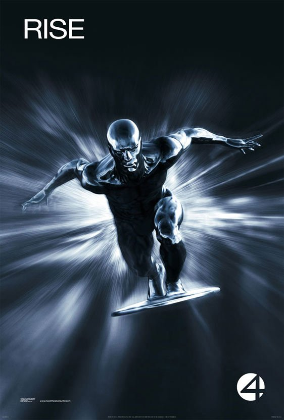Fantastic Four: Rise of the Silver Surfer Poster #8