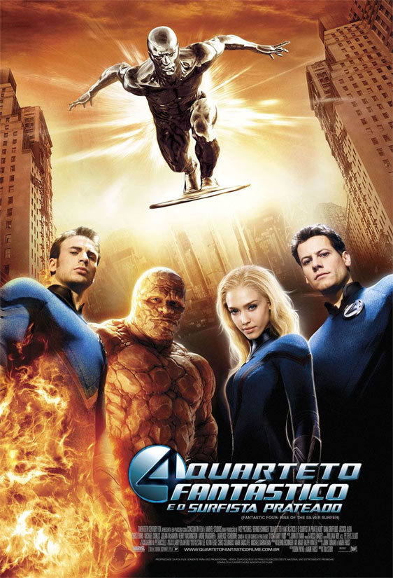 Fantastic Four: Rise of the Silver Surfer Poster #9