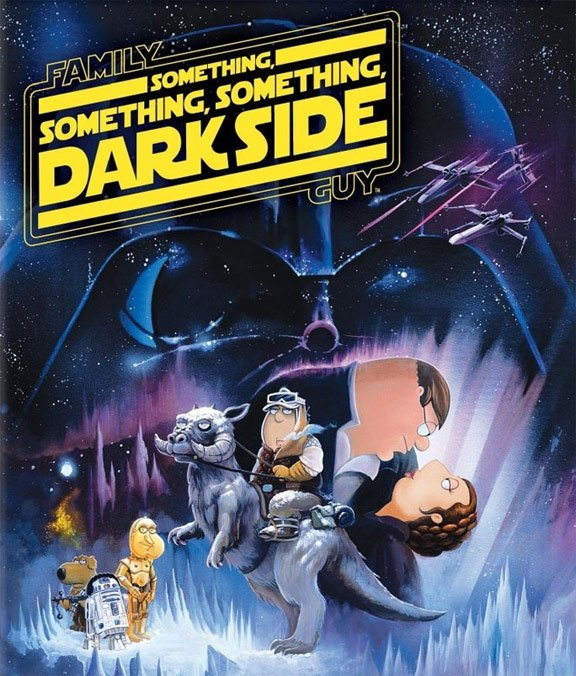 Family Guy: Something Something Something Dark Side Poster #2