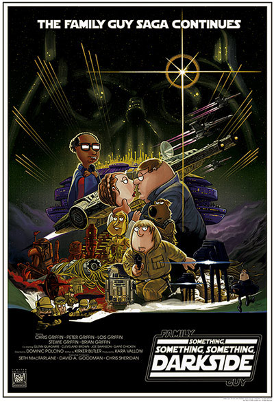Family Guy: Something Something Something Dark Side Poster #1