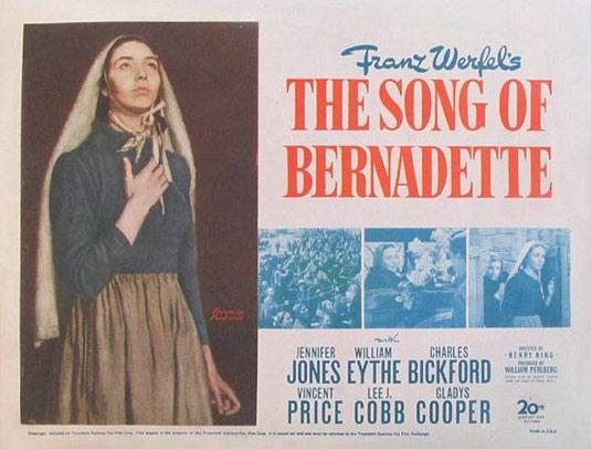 The Song of Bernadette Poster #2