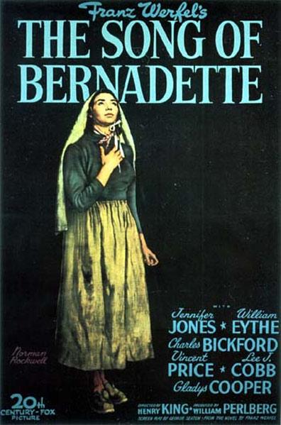 The Song of Bernadette Poster #3