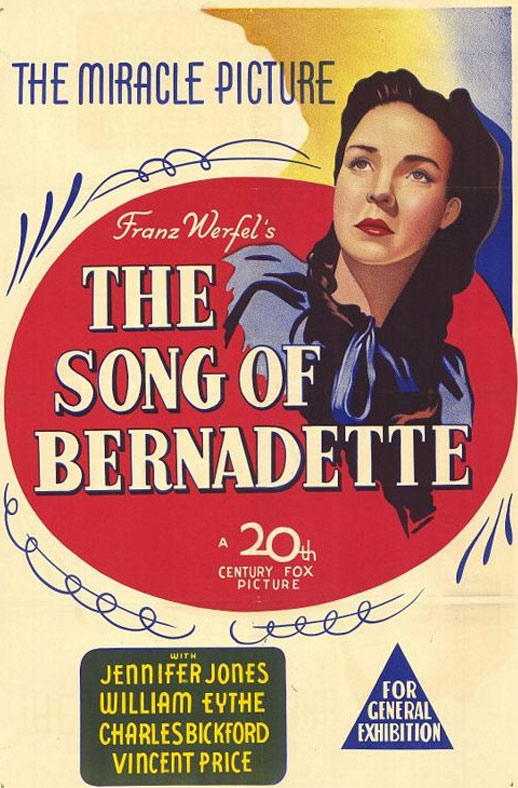 The Song of Bernadette Poster #1