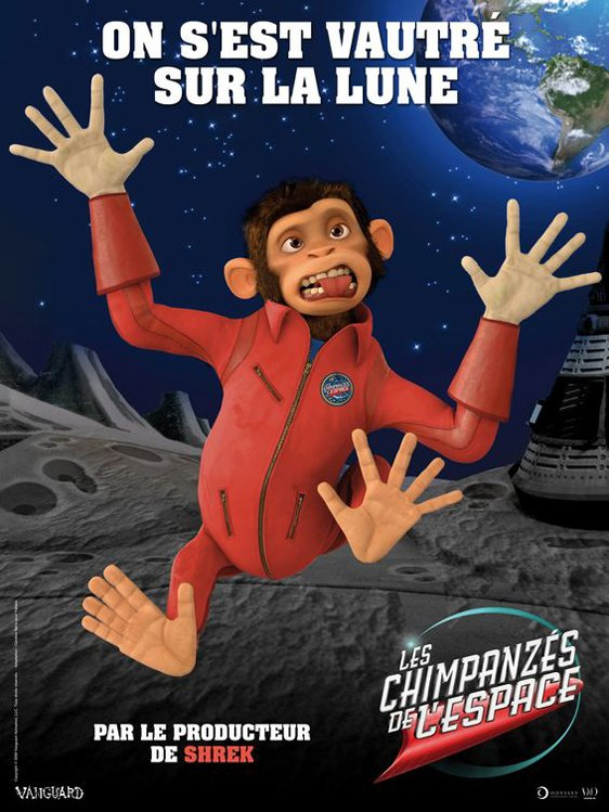 Space Chimps Poster #4