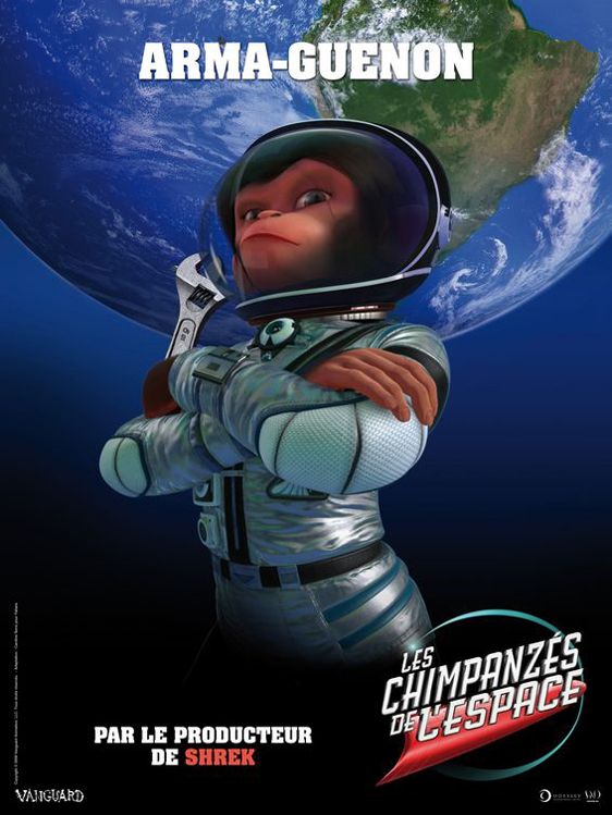 Space Chimps Poster #6