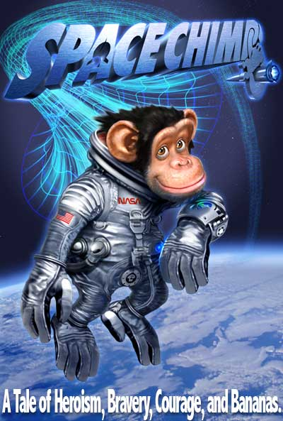 Space Chimps Poster #1