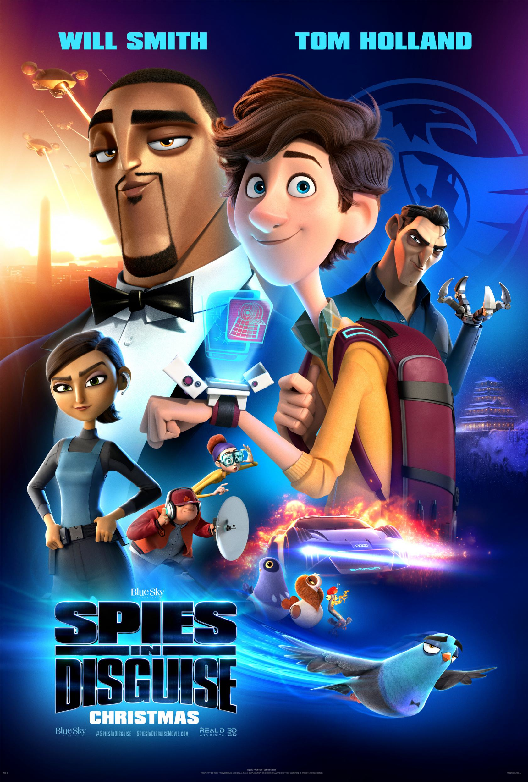 Spies in Disguise Poster #14