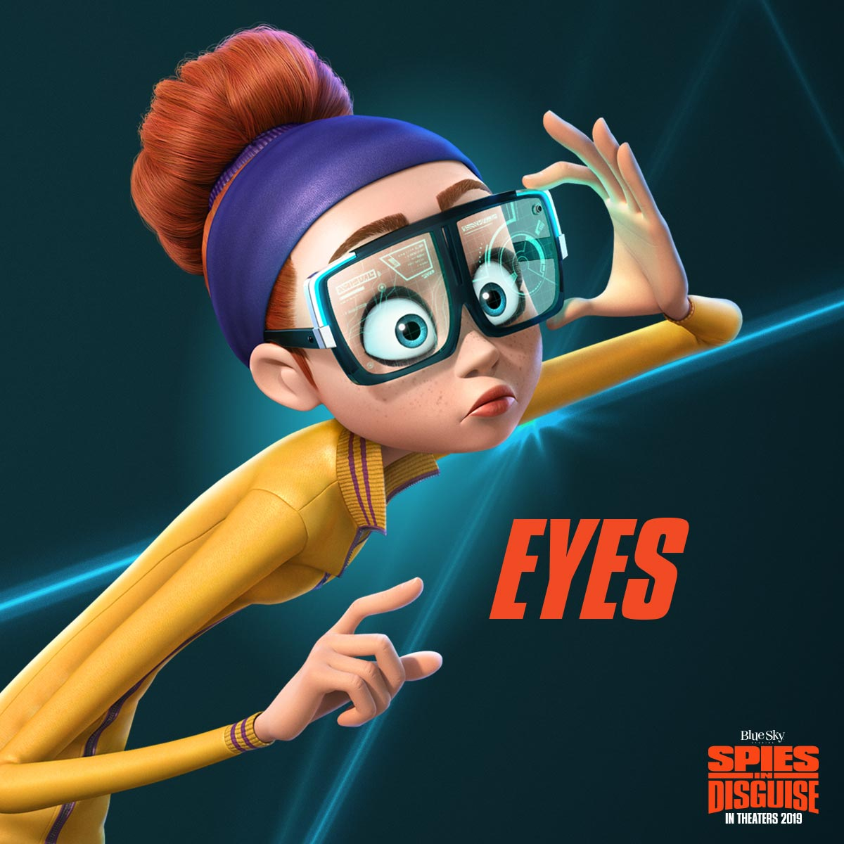 Spies in Disguise Poster #8