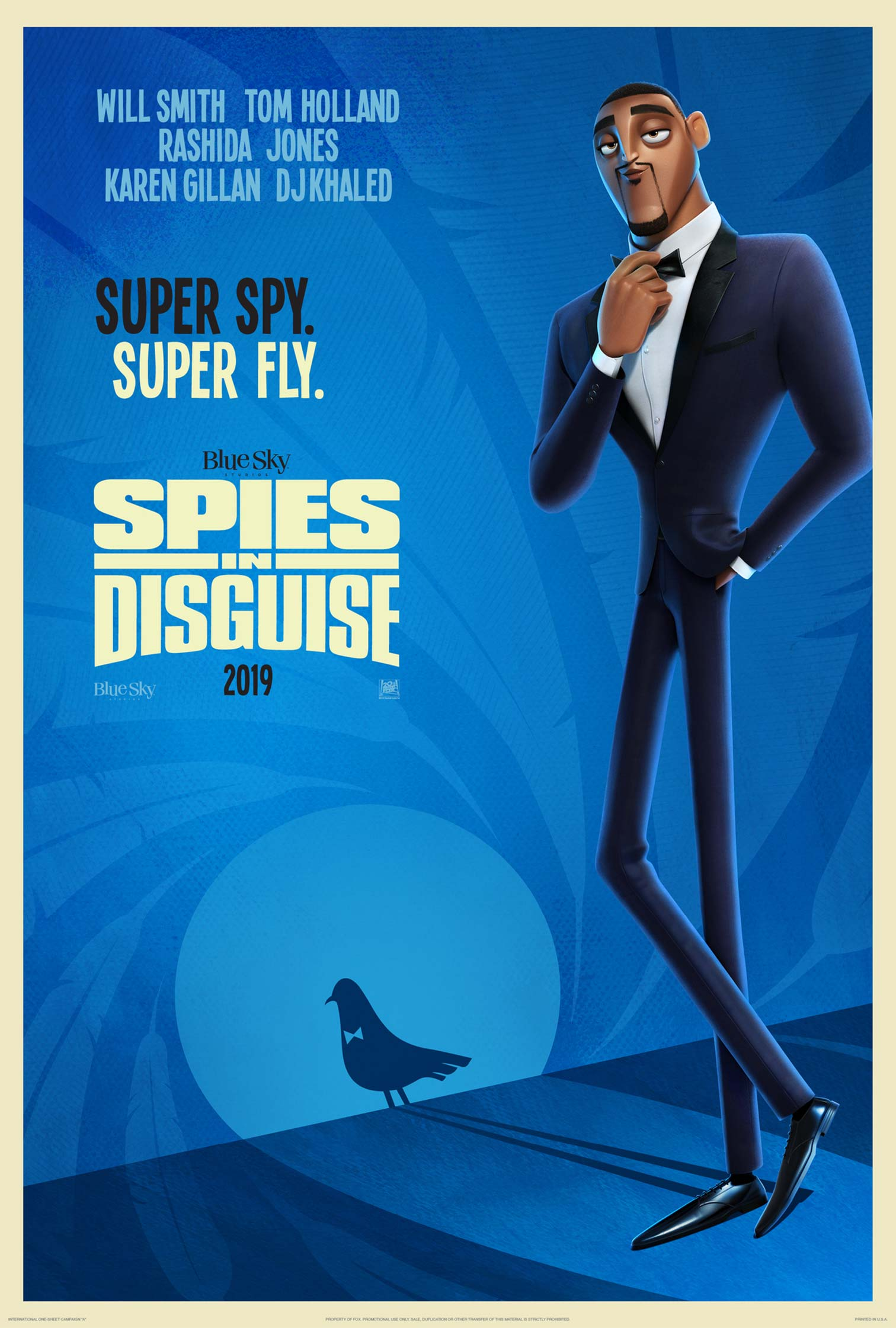 Spies in Disguise Poster #1