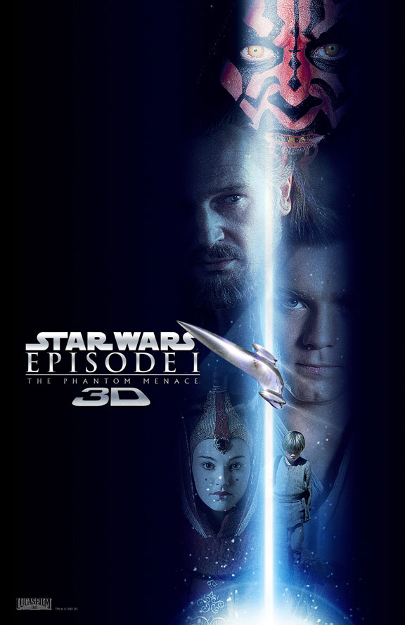 Star Wars Episode I: The Phantom Menace Poster #8