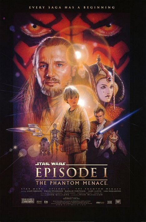 Star Wars Episode I: The Phantom Menace Poster #1