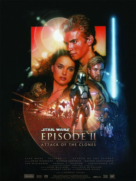 Star Wars: Episode II Attack of the Clones Poster #1