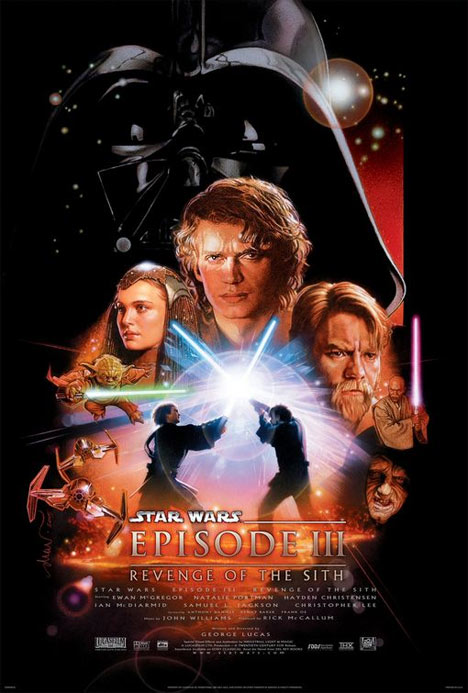Star Wars: Episode III Revenge of the Sith Poster #1