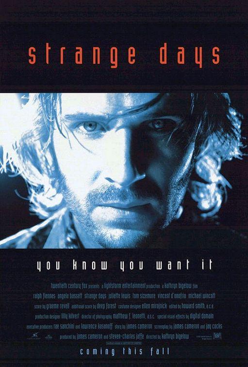 Strange Days Poster #1