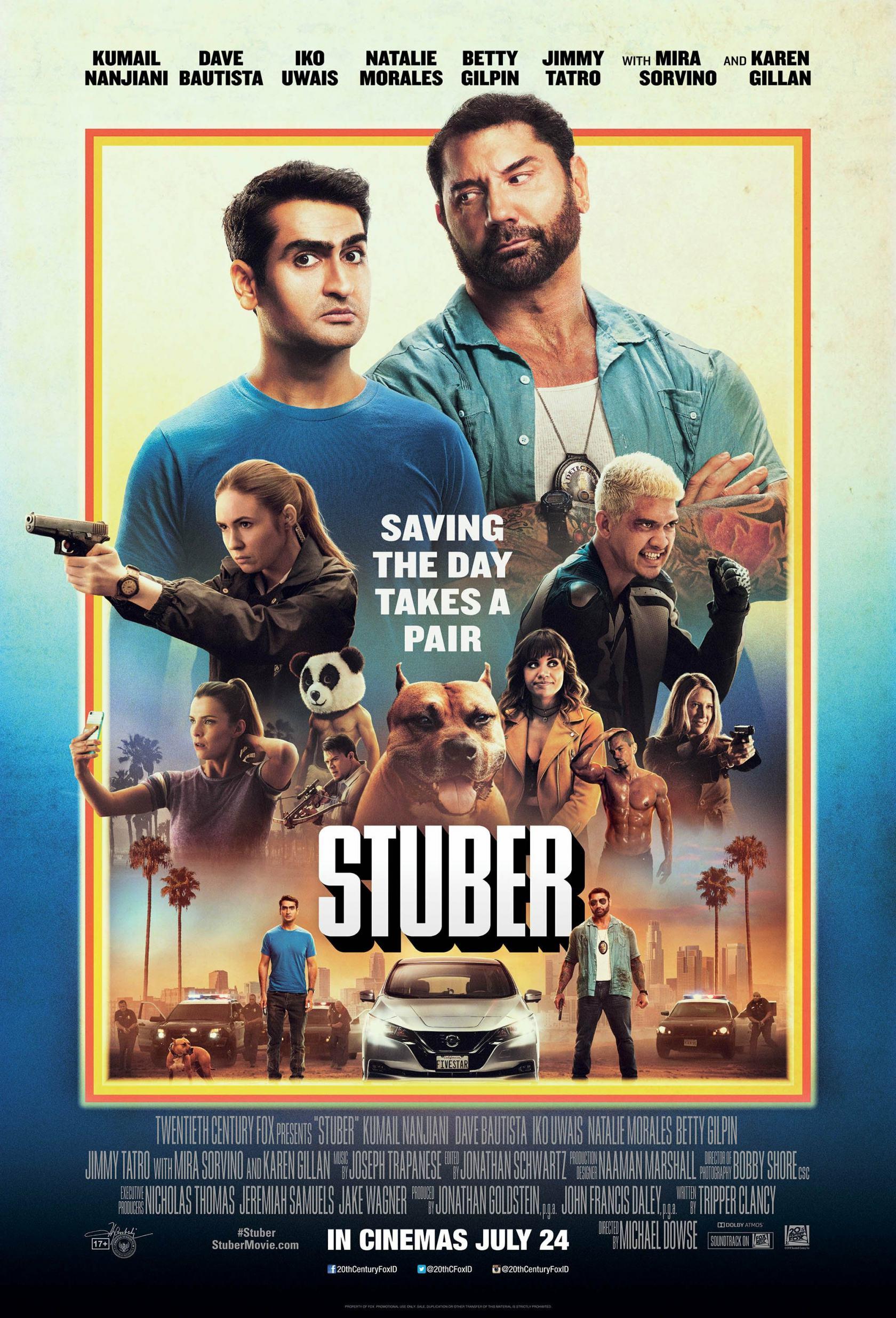 Stuber Poster #2