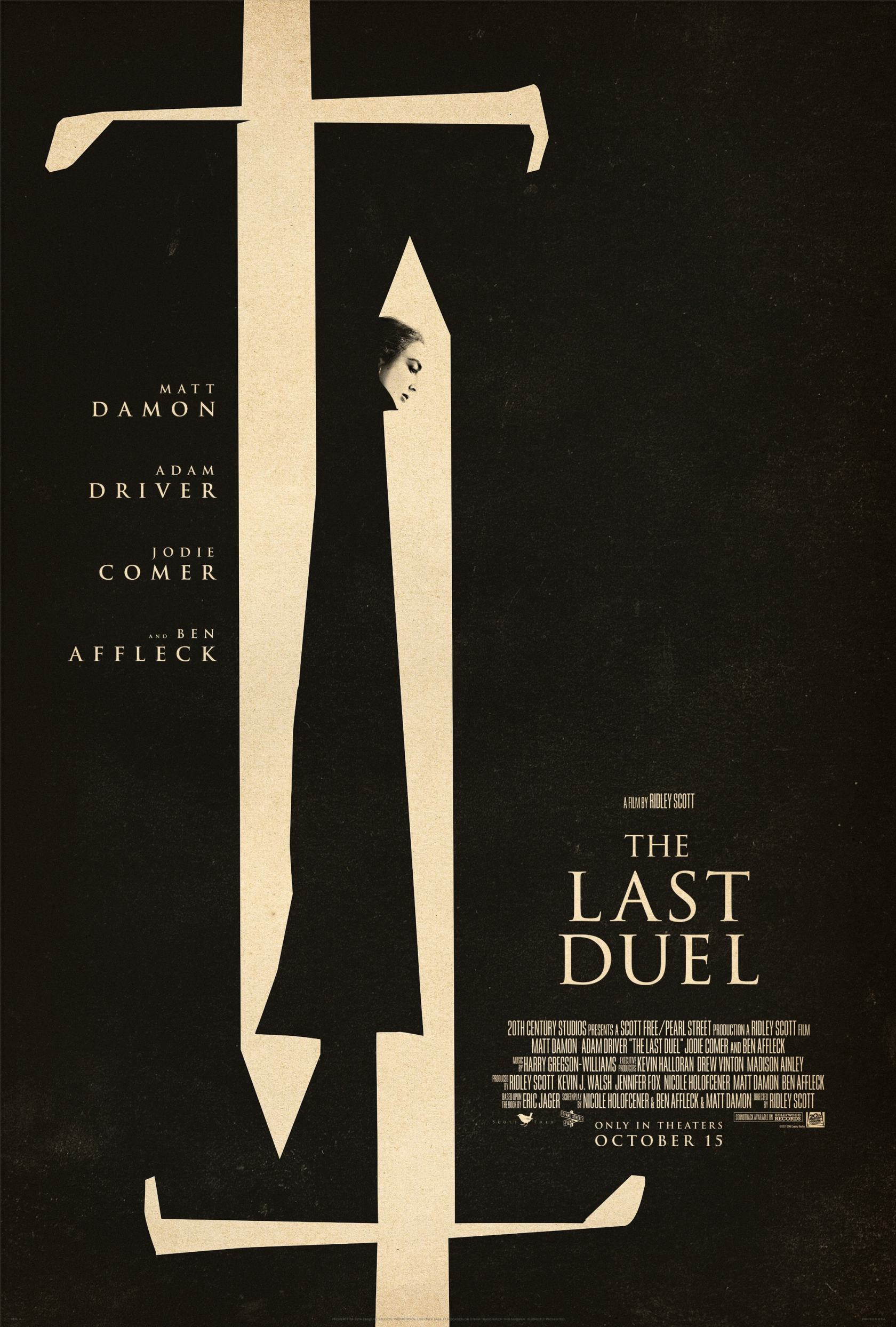 The Last Duel Poster #1