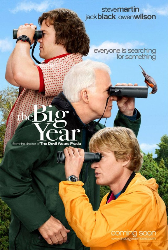 The Big Year Poster #1