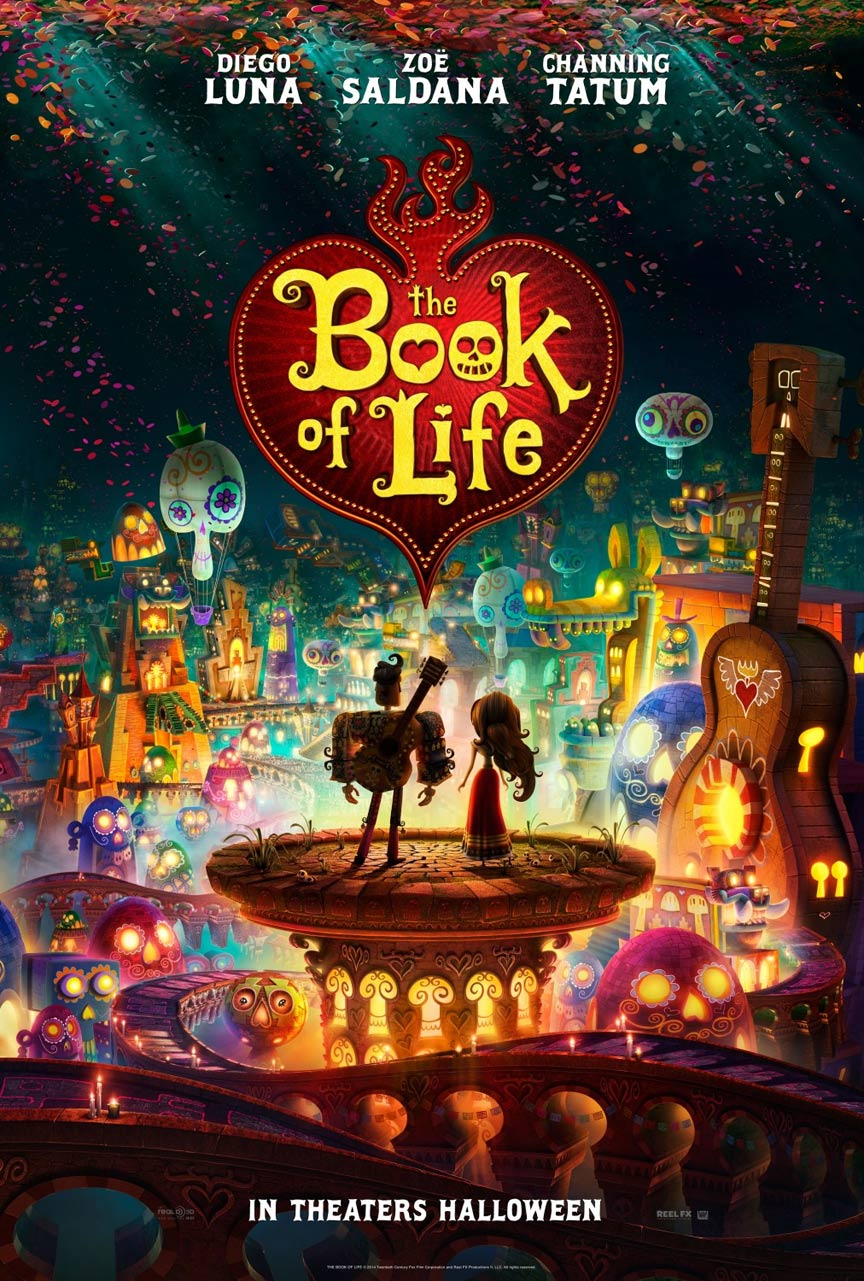 The Book of Life Poster #1