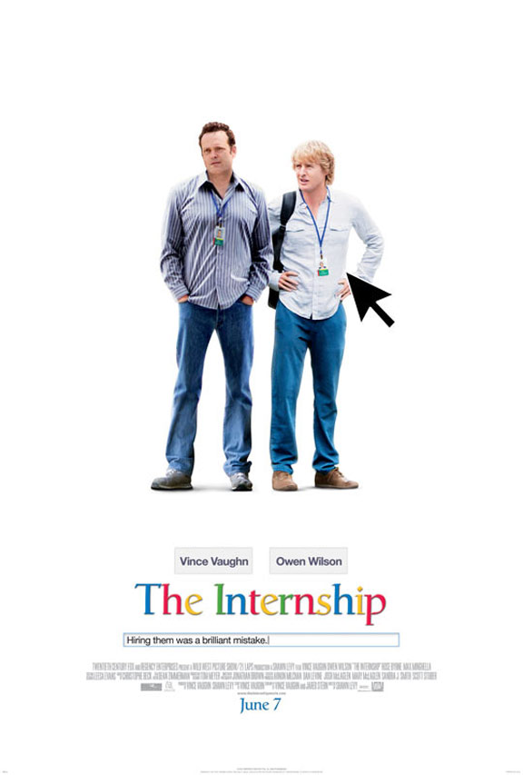 The Internship Poster #1