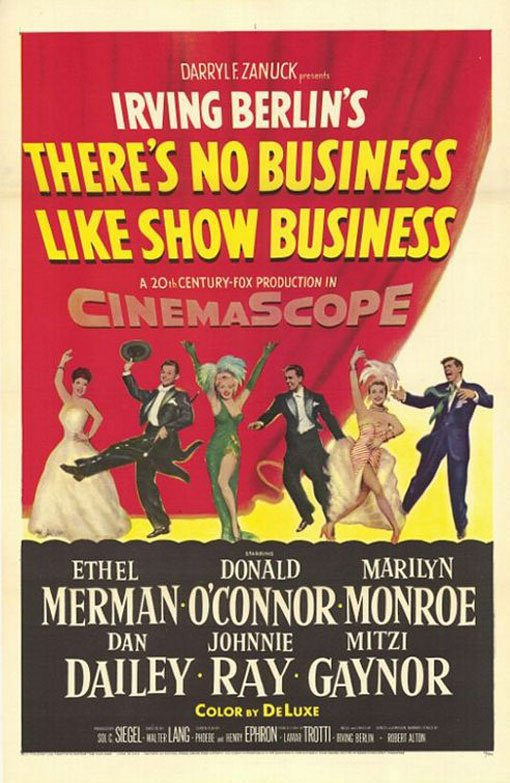 There's No Business Like Show Business Poster #1