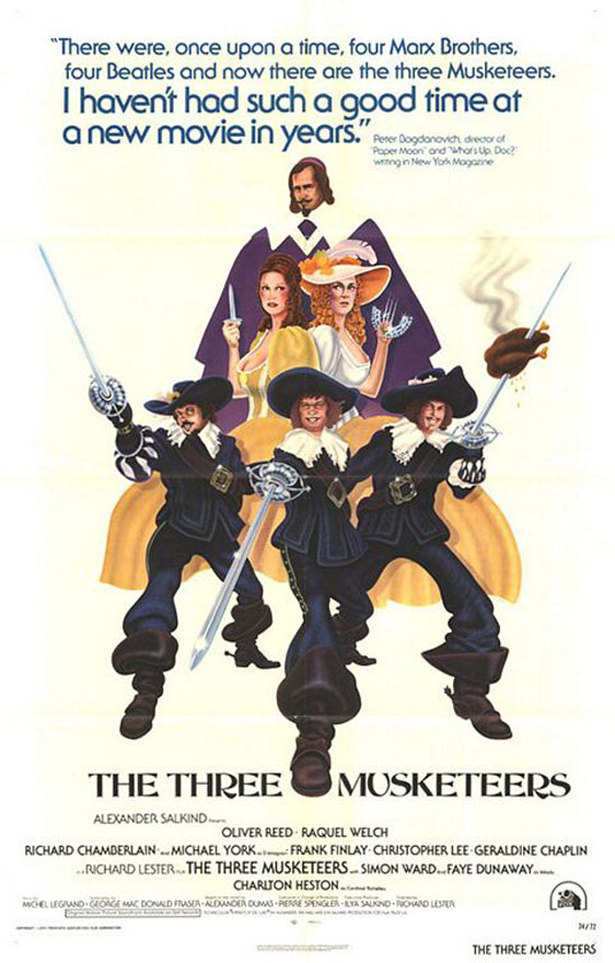 The Three Musketeers Poster #1