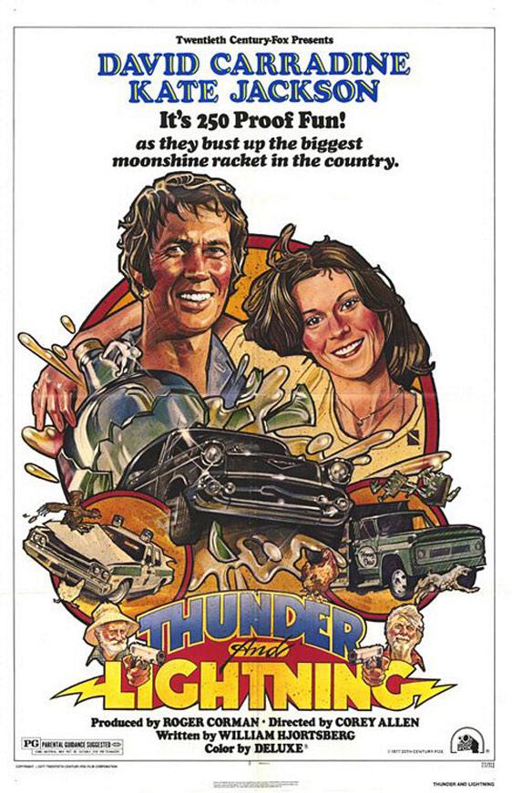 Thunder and Lightning Poster #1