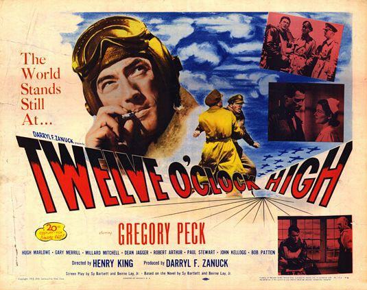 Twelve O'Clock High Poster #1