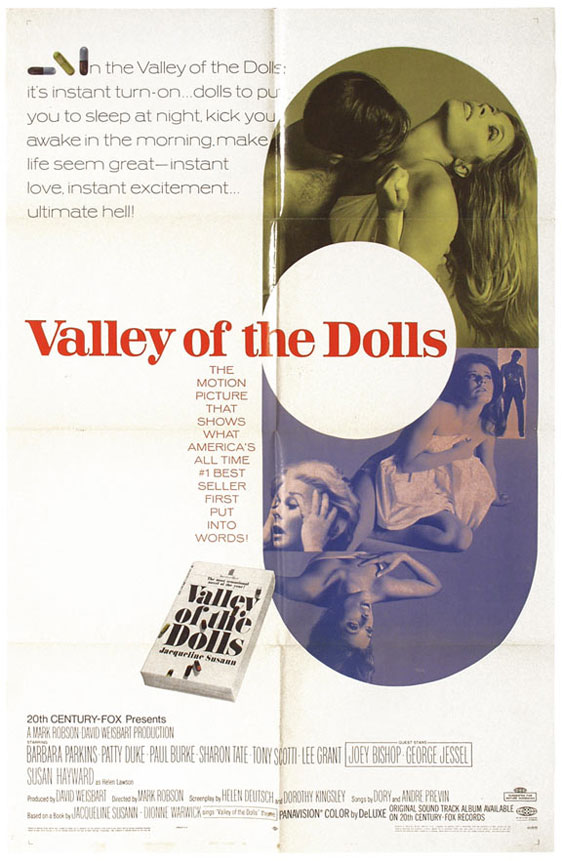 Valley of the Dolls Poster #1