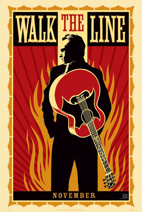 Walk the Line Poster #1