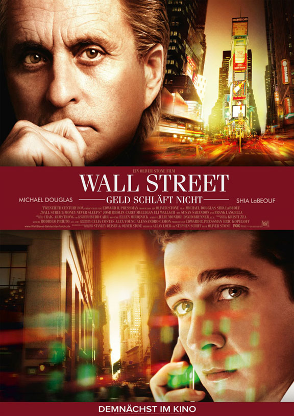 Wall Street: Money Never Sleeps Poster #2