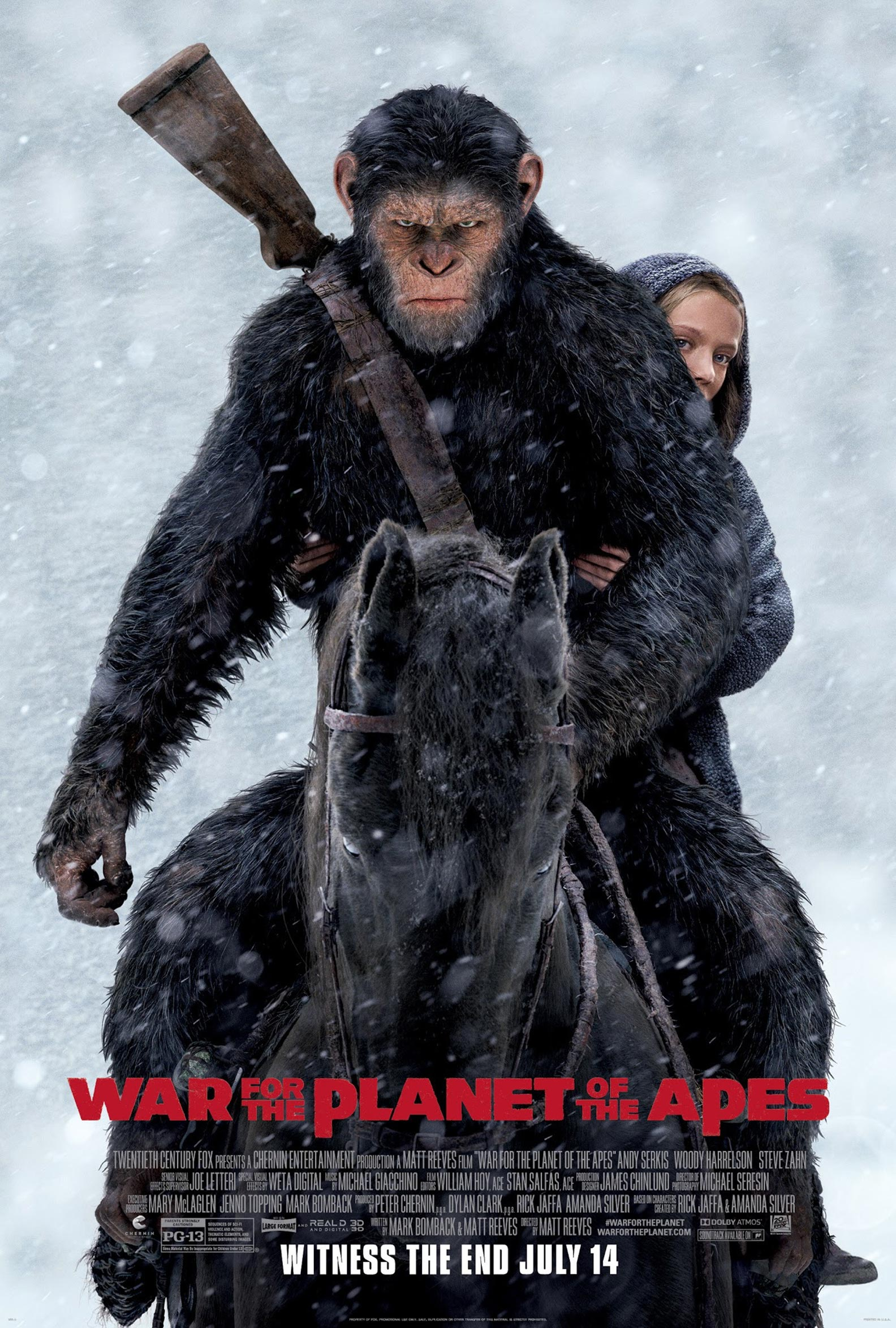 War for the Planet of the Apes Poster #5