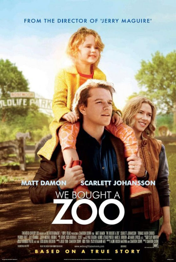 We Bought a Zoo Poster #3