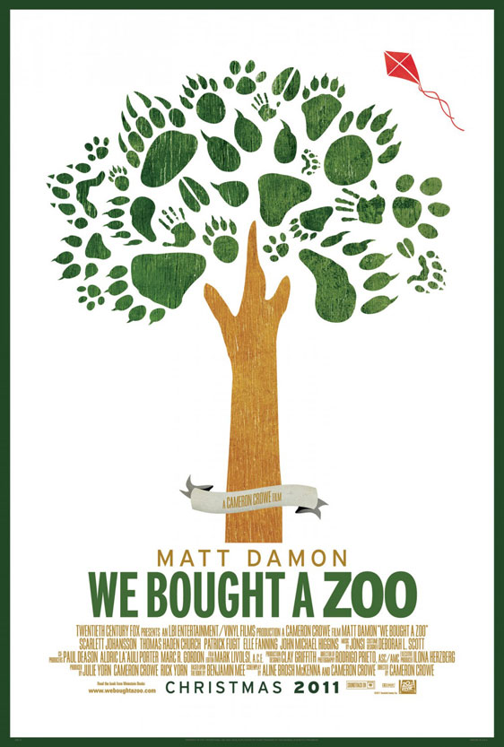 We Bought a Zoo Poster #4