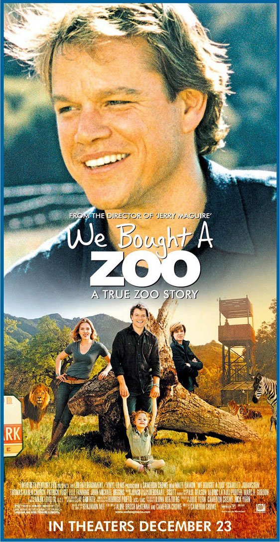 We Bought a Zoo Poster #9