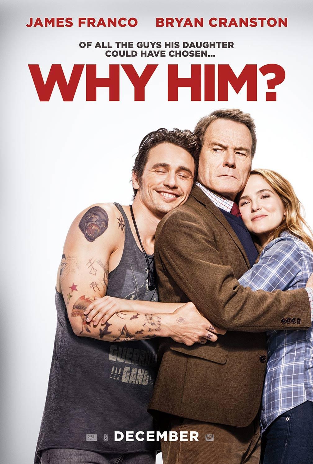Resultado de imagem para why him? poster